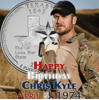 The Hero, the Legend, the Man... The Frogman, actually. Never forgotten, an American hero and role model. Happy birthday Chris Kyle! MAGA America Donaldtrump RedWhiteandBlue draintheswamp conservative liberal republican Democrat liberty life prolife bluelivesmatter blm God Christ Christian rolltide senate news vets military ChrisKyle frog navy seal: TEXAS  The  Lone Star  State  BIRTHDAY The Hero, the Legend, the Man... The Frogman, actually. Never forgotten, an American hero and role model. Happy birthday Chris Kyle! MAGA America Donaldtrump RedWhiteandBlue draintheswamp conservative liberal republican Democrat liberty life prolife bluelivesmatter blm God Christ Christian rolltide senate news vets military ChrisKyle frog navy seal