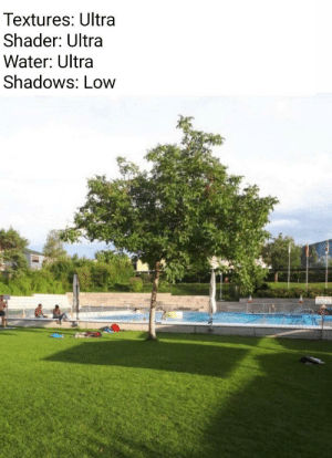 Minecraft, Tree, and Water: Textures: Ultra  Shader: Ultra  Water: Ultra  Shadows: Low Minecraft tree