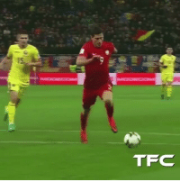 Memes, 🤖, and Tfc: TFC When Lewandowski got hit by a firecracker, and then responded with scoring twice! 🇵🇱💪 • • • 👥Tag your friends⬇ @thefootballcollection