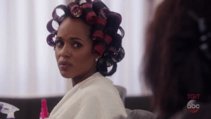 Pope Francis, Target, and Tumblr: TGIT sseureki: ANNALISE KEATING AND OLIVIA POPE DRAGGING EACH OTHER IN A HAIR SALON