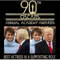 "Academy Awards, Memes, and Academy: TH  ANNUAL ACADEMY AWARDS  BEST ACTRESS IN A SUPPORTING ROLE <p>Acting skill is commendable via /r/memes <a href=""http://ift.tt/2u4V5Gd"">http://ift.tt/2u4V5Gd</a></p>"