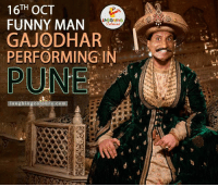 Hey Guys, Ace Stand-Up Comedian Raju Srivastav To Perform Live Today In Pune :)   Artist Managed By Laughing Colours.: TH  OCT  FUNNY MAN  GAJODHAR  PERFORMING IN  PUNE Hey Guys, Ace Stand-Up Comedian Raju Srivastav To Perform Live Today In Pune :)   Artist Managed By Laughing Colours.
