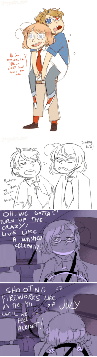 geographybasket:  Ok, But i imagine Matthew is a good responsible brother, picking up a drunk Alfred on the aftermaths of his crazy birthday adventures. Bless him(happy belated 4th of July. i wanted to draw something for Alfie's birthday but i wasn't creative at the time. have those doodles as a substitute): th of  July hod  Worh him  oUH   cin king  Hadthe  0  Gimme  bcealk,   CRARY/  UvE Like  A WASheD   FIREWokks LIke  In'S THe Mh  UNTIL we  9  Feel  EEl  ALRIG geographybasket:  Ok, But i imagine Matthew is a good responsible brother, picking up a drunk Alfred on the aftermaths of his crazy birthday adventures. Bless him(happy belated 4th of July. i wanted to draw something for Alfie's birthday but i wasn't creative at the time. have those doodles as a substitute)