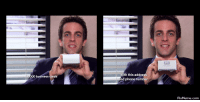 Phone, The Office, and Business: th this addres  nd phone number.  business cards  PixMeme.com