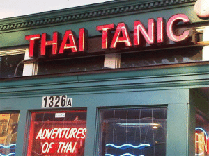 Business, Opportunity, and Thai: THAI TANIC  ES  OF THAK An unsinkable business opportunity