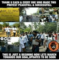 Memes, 🤖, and Aps: THANK U EACH & EVERY ONE WHO MADE THIS  PROTEST PEACEFULL & SUCCESSFULL  B, Cort LO PHYSIC  PACKAGE LO BISCUIT  Dis Page VIl entertainU  RTA  THIS IS JUST A BEGINING NOW LETS MARCH  TOWARDS OUR GOAL UPDATES TO BE SOON పేరు పేరున ఈ మౌన దీక్షలో పాల్గొన్న ప్రతిఒక్కరికి ధన్యవాదాలు.ఇది అంతంకాదు మిత్రమా ఆరంభం మాత్రమే... జై హింద్  AP FIGHTS FOR SPECIAL STATUS