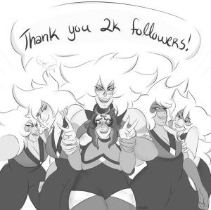 Tumblr, Thank You, and Blog: Thank you 2k folowers!  JASKER jasker:  AAAAAHHH OH MY GOSH!!! YOU GUYS!! 💖i literally never, ever imagined that my art would reach so many people! i cant tell you how much all of you mean to me, and knowing that you enjoy seeing my art that much makes me SO HAPPY!! thanks for sticking around and sending me super dynamic requests, a ton of fun asks, and so many incredibly sweet compliments! i cant wait to keep talking with u all and continue sharing my art!!! 💗💕💞