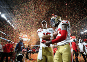 Thank you and congratulations to the @49ers for an incredible season. #GoNiners https://t.co/sRcuPb23Sm: Thank you and congratulations to the @49ers for an incredible season. #GoNiners https://t.co/sRcuPb23Sm