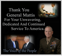 "Thank You General ""MAD DOG"" #Mattis For Your Service To #America  #MAGA #TRUMP2020: Thank You  General Mattis  For Your Unwavering,  Dedicated And Continued  Service To America.  The Voice of the People Thank You General ""MAD DOG"" #Mattis For Your Service To #America  #MAGA #TRUMP2020"