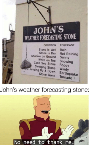 Thank you John by methebestpizza MORE MEMES: Thank you John by methebestpizza MORE MEMES