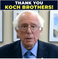 And ... there you have it.: THANK YOU  KOCH BROTHERS! And ... there you have it.