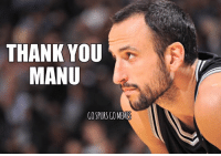 Memes, Thank You, and fb.com: THANK YOU  MANU  GO SPURS GOMEMES Not sure if this is the end, but if it is, thank you for the memories!  Like us ➡️ FB.com/GSGMemes #Spurs #GoSpursGo