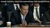 We want to thank Senator Ted Cruz for voicing his support for Judge Kavanaugh, a well-qualified judge who will uphold the constitution.   Spread this video around to show your support!: THANK YOU SEN. CRUZ FOR SUPPORTING THE CONSTITUTION  AFF  STAF  MR. CRUZ  R SASSE We want to thank Senator Ted Cruz for voicing his support for Judge Kavanaugh, a well-qualified judge who will uphold the constitution.   Spread this video around to show your support!