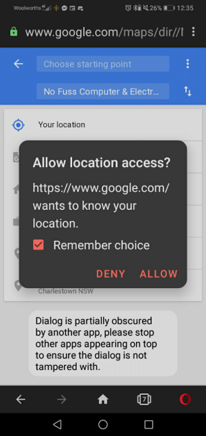 Thank you very much google maps. I never did get it to accept.: Thank you very much google maps. I never did get it to accept.