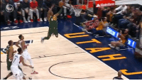 Thankful for slow motion replays! Check out the catch by Donovan Mitchell on this alley-oop dunk! https://t.co/QaaeeQRqwC: Thankful for slow motion replays! Check out the catch by Donovan Mitchell on this alley-oop dunk! https://t.co/QaaeeQRqwC