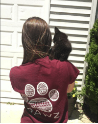 Thanks @allison_.maria for the support in our maroon Pawz shirt order now at PawzShop.com 🐾: Thanks @allison_.maria for the support in our maroon Pawz shirt order now at PawzShop.com 🐾