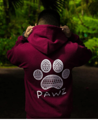 Thanks @cyril_lin for the support in our maroon tribal hoodie! Order now at PawzShop.com 🐾: Thanks @cyril_lin for the support in our maroon tribal hoodie! Order now at PawzShop.com 🐾