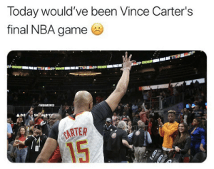 Thanks for 22 incredible seasons Vince Carter ❤️ https://t.co/fVsztTgkLC: Thanks for 22 incredible seasons Vince Carter ❤️ https://t.co/fVsztTgkLC