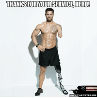 America, Life, and Memes: THANKS FOR YOUR SERVICE HERO!  AMERICAN VETERANS Sergeant Noah Galloway was assigned to the 1st of the 502nd Infantry of the 101st Airborne Division out of Fort Campbell, Kentucky during Operation Iraqi Freedom. Just three months in to his second tour of duty, he experienced a life changing injury. On December 19, 2005, Galloway lost his left arm above the elbow and left leg above the knee in an Improvised Explosive Device attack. americanveterans veterans usveterans usmilitary usarmy supportveterans honorvets usvets america usa patriot uspatriot americanpatriot supportourtroops godblessourtroops ustroops americantroops semperfi military remembereveryonedeployed deployed starsandstripes americanflag usflag respecttheflag marines navy airforce