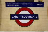"""Journey, Memes, and Scotland: THANKS GARETH FOR THE INCREDIBLE JOURNEY  SOUTHGATE IS YOURS.  GARETH SOUTHGATE In Scotland they have a station which reads """"We have never qualified"""""""