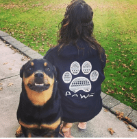 Thanks @grizzlytherottie for the support in our navy tribal shirt! Order now at PawzShop.com: Thanks @grizzlytherottie for the support in our navy tribal shirt! Order now at PawzShop.com