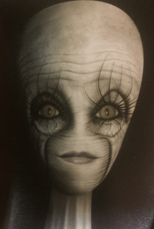 Aliens, Normal, and Hate: Thanks, I hate aliens with normal eyes and long eyelashes.