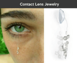Thanks, I hate contact lens jewelry: Thanks, I hate contact lens jewelry