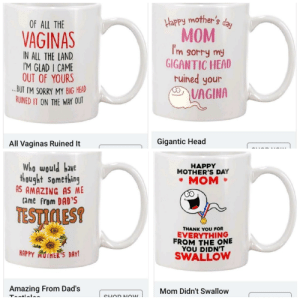 Thanks, I Hate Inappropriate Mother's Day Cups: Thanks, I Hate Inappropriate Mother's Day Cups