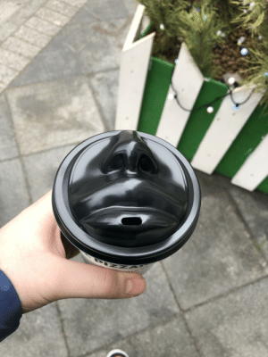 Thanks, I hate kissing coffee cup.: Thanks, I hate kissing coffee cup.