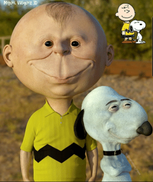 Thanks, I hate realistic Charlie Brown and Snoopy (by @marvelous_mikee): Thanks, I hate realistic Charlie Brown and Snoopy (by @marvelous_mikee)