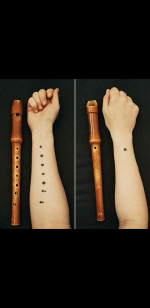 Thanks, I hate recorder tattoos: Thanks, I hate recorder tattoos