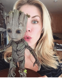 Thanks to James Gunn's girlfriend, we have a new look at Baby Groot!  (Andrew Gifford): Thanks to James Gunn's girlfriend, we have a new look at Baby Groot!  (Andrew Gifford)