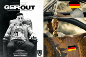 Memes, World Cup, and Best: THANKS TO THE RIGHT FOOT  OF HIRVING LOZANO  OF SOUTH KOREA  AND THE HEROICS  GERC  OUT  JUST BECAUSE YOURE THE HOLDERS  DOESN'TMEAN YOU'RE THE BEST  B R  BEATEN BY  MEXICO AND SOUTH KOREA  WORLD CUP 2018 Germany Was Shockingly Booted Out Of The World Cup And The Memes Are ...