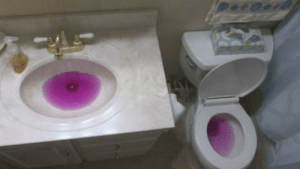 Thanos, Day, and  Heavy: Thano's bathroom after a heavy day of dranking...