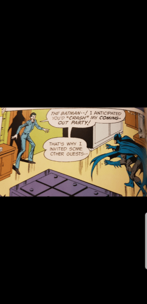 That's not very nice Batman.: That's not very nice Batman.