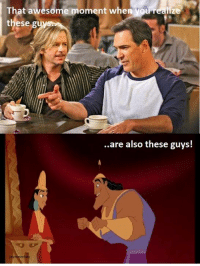 Kuzco is the best Disney princess ever. - Disnerds: That awesome moment when you realize  these  are also these guys! Kuzco is the best Disney princess ever. - Disnerds