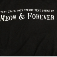 THAT CRACK  ROCK STEADY BEAT DRUMS ON  w & FOREVER Holy shit I didn't even see the back! HAHA!!!