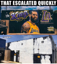 THAT ESCALATED QUICKLY  RS  @NBAMEMES LeBron has some haters in LA already. https://t.co/9sRnDpt7cv