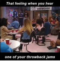 Friday, Funny, and That Feeling When: That feeling when you hear  SHOWCASE  one of your throwback jams 😂😂 That Friday feeling... Follow @viralcypher funniest15 viralcypher funniest15seconds