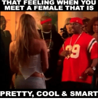 😭😭😭😭💃 tbt throwback lmao funny deathofadynasty capone funniest15seconds funnyvideos From @shocke_718: THAT FEELING WHEN YOU  MEET A FEMALE THAT IS  PRETTY COOL & SMART 😭😭😭😭💃 tbt throwback lmao funny deathofadynasty capone funniest15seconds funnyvideos From @shocke_718