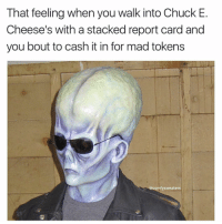 Long division wasnt shit, gimme the loot: That feeling when you walk into Chuck E.  Cheese's with a stacked report card and  you bout to cash it in for madtokens  comfy sweaters Long division wasnt shit, gimme the loot