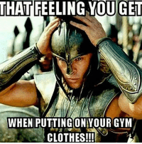Time for battle 💪🏻 . @doyoueven 👈🏼💯 20% OFF STOREWIDE SALE (use code SCARE20 at the checkout!): THAT  FEELING YOUGET  WHEN PUTTINGONYOUR GYM  CLOTHES!!! Time for battle 💪🏻 . @doyoueven 👈🏼💯 20% OFF STOREWIDE SALE (use code SCARE20 at the checkout!)