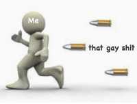 low quality meme incoming: that gay shit low quality meme incoming