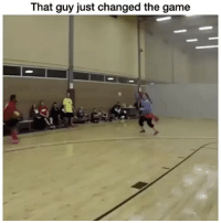 That guy just changed the game Dodgeball MVP