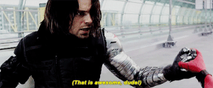 Anaconda, Frozen, and Fucking: (That is awesome, dudel) wendigocanada: holahydra:  I need to talk about the fact that Bucky's still got his right hand 100% free and could be punching Spider Man into next Tuesday already. But he still stood frozen, looking shocked as all fucks and lemme tell you right now that that was not because someone's managed to block his metal fist because lbr the metal arm was never unstoppable before, especially when super-enhanced/-equipped people are involved – so basically he doesn't take that punch cus he's actually just now able to hear the other guy's voice and it clicks that this is just a fucking k i d    #THANK YOU SOMEBODY FOR SAYING THIS OTHER THAN ME#LIKE THANK FUCKING CHRIST SOMEBODY REMEMBERS THAT THIS IS A GUY WHO STOOD UP FOR ITTY BITTY STEVE SINCE CHILDHOOD#AND NOW HE HEARS THIS ITTY BITTY VOICE AND IS LIKE#FUCK IT'S A BABBY I CANNOT HIT THE BABBY HE IS SMOL WHY IS HE OUT RISKING HIS LIFE WHERE IS HIS GUARDIAN RN#WHY IS HE NOT IN SCHOOL FFS   Those tags. ^^