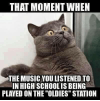 """Mexican Word of the Day: THAT MOMENT WHEN  THE MUSICYOULISTENED TO  IN HIGH SCHOOLIS BEING  PLAYED ON THE OLDIES"""" STATION"""