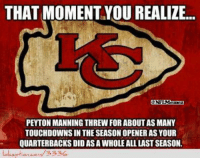 Peyton Manning vs. The Kansas City Chiefs!