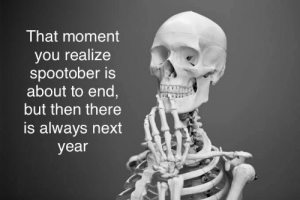 A lot of trees: That moment  you realize  spootober is  about to end,  but then there  is always next  year A lot of trees