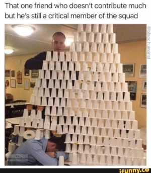 That one friend who doesn't contribute much but he's still a critical member of the squad – popular memes on the site iFunny.co #showerthoughts #memes #saw #csgo #thought #that #friend #doesnt #contribute #much #hes #still #critical #member #squad #pic: That one friend who doesn't contribute much but he's still a critical member of the squad – popular memes on the site iFunny.co #showerthoughts #memes #saw #csgo #thought #that #friend #doesnt #contribute #much #hes #still #critical #member #squad #pic