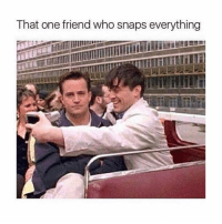 Memes, 🤖, and Who: That one friend who snaps everything We all have that friend! 😂
